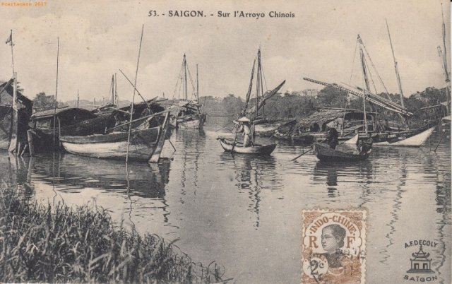CO Saigon - Arroyo - Decoly -@879 #1966 ©Decoly